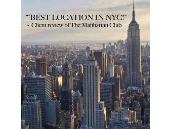 $150 towards a 2 night Luxury Suite in the Heart of Midtown Manhattan