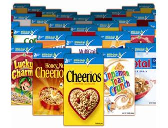 Year's Supply of General Mills Cereal