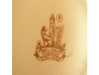 Irish Belleek Teapot, Limpet pattern, Third Green Mark, c. 1965