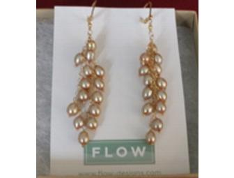 Champagne Freshwater Pearl and 14k Gold-filled Earrings