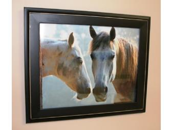 Original Horse Photo, 'Camp Horses,' by Karin Allmendinger