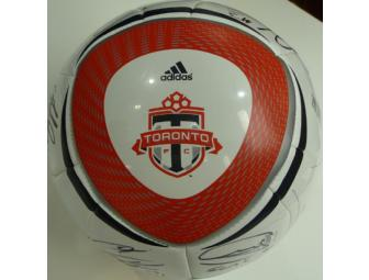 2010 Team Autographed Toronto FC Ball