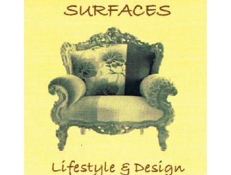 Surfaces Lifestyle & Design -- $25 Gift Certificate
