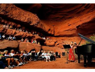 Weekend Package for 2 for 2013 Moab Music Festival!