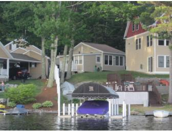 Week Long Stay at a Lovely  Winnipesaukee Waterfront Cottage