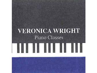 1 Hour Piano Lesson with Veronica Wright