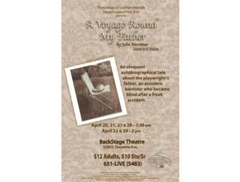 CSN Performing Arts Center: Two Tickets to 'A Voyage Round My Father'