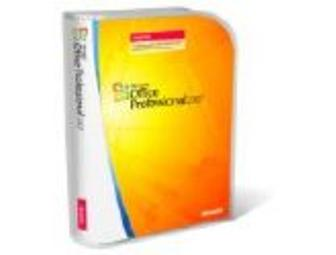 Microsoft Office Professional 2007 Software Package