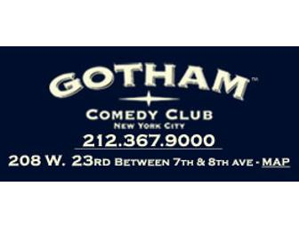 ADMISSION FOR 6 TO THE GOTHAM COMEDY CLUB IN NYC