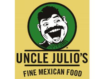 $25 Gift Card for Uncle Julio's Fine Mexican Food