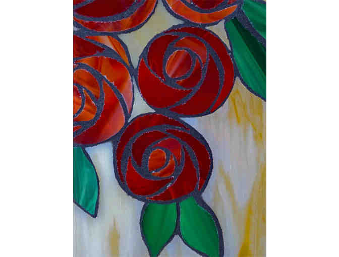 Deco Roses by Linda Englebright Hooper