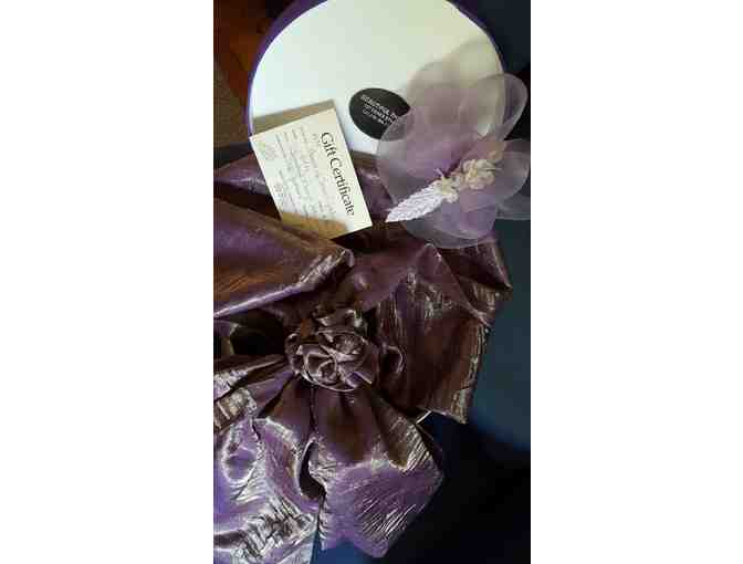 Beautiful Things Gift Package including scarf, fascinator and $50 gift certificate