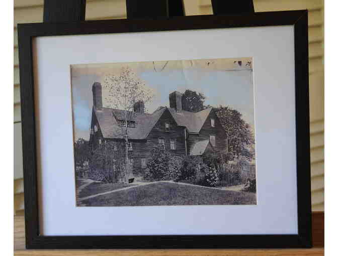 Archival Photo of House of Seven Gables