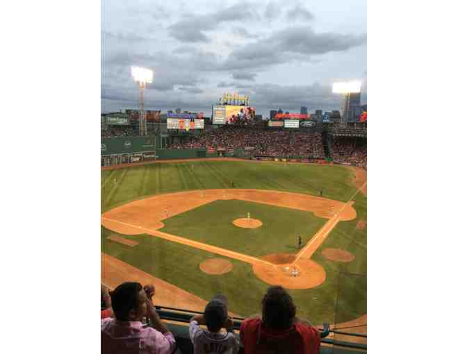 Four tickets to State Street Pavillion Box behind home plate at Fenway Park