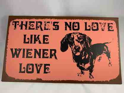 Plaque - There's no Love like Wiener Love