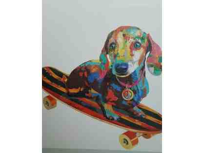 Peace, Love and Doxie Skateboarding
