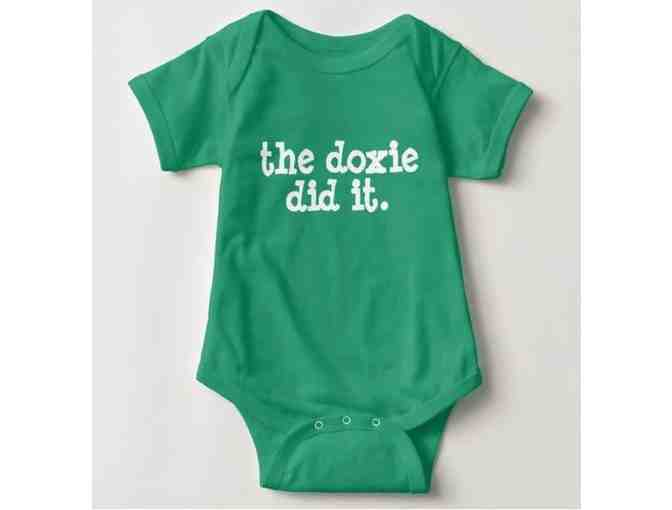 The Doxie Did It! Baby One Piece (Size 6 mths.) - Photo 1