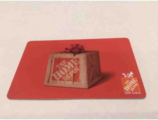 $25 Gift Card - Home Depot - Photo 1