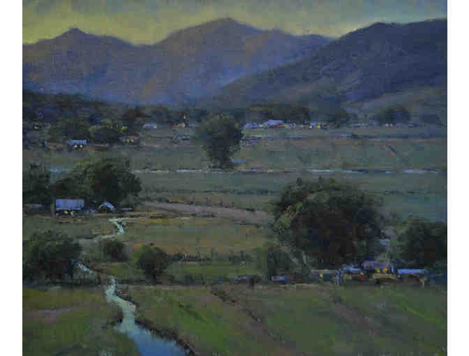 'Evening Above the Valley'
