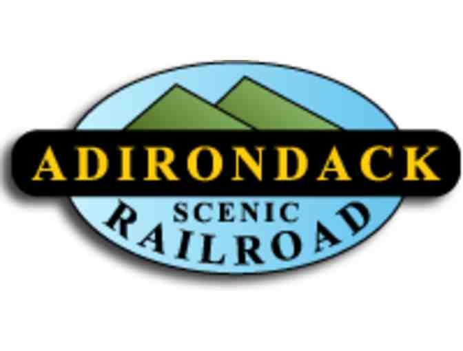 A $50 Gift Certificate towards a train ride on Adirondack Scenic Railroad