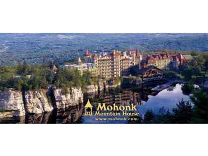 A midweek one-night stay for two at Mohonk Mountain House