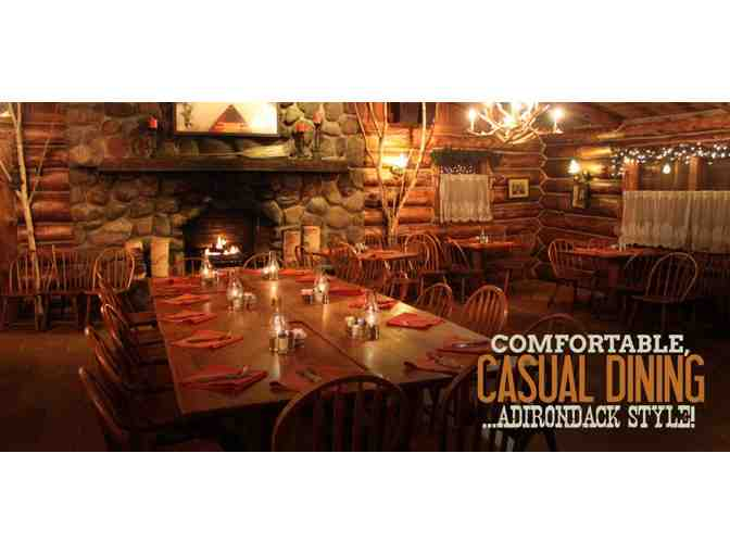 Gift certificate to The Log Jam restaurant