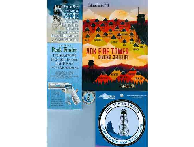 ADK Fire Tower gift basket
