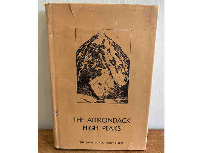 The Adirondack High Peaks and the Forty-Sixers, 1971 2nd Ed. Autograph by Grace Hudowalski