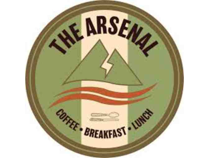 The Arsenal $25 Gift Certificate