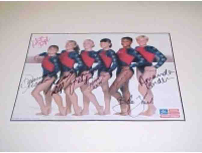 1996 USA Gymnastics Team Autographed Piece