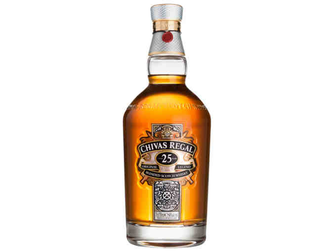 Chivas 25 Custom Engraved Bottle