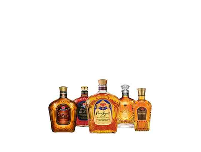 CROWN ROYAL CROWN ROYAL COLLECTION (5 BOTTLES)