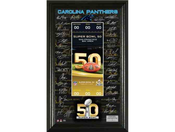2015 Panthers NFC Champions Signature Package