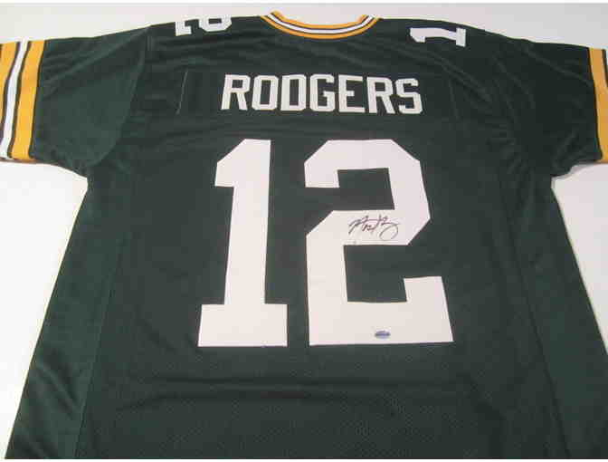 Aaron Rodgers Green Bay Packers Autographed Jersey