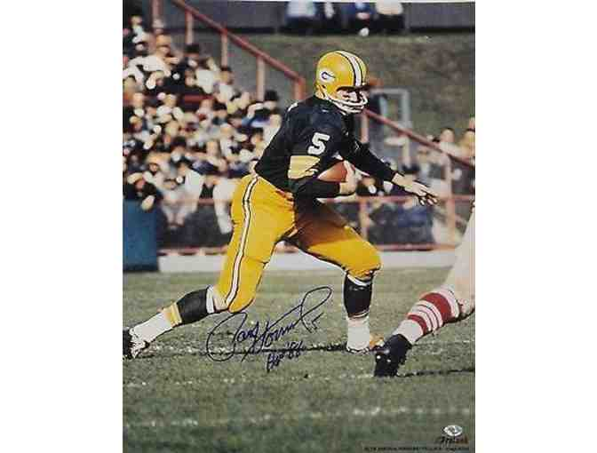 Signed Paul Hornung Photograph - 16x20 Running HOF86