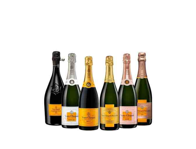 VEUVE CLICQUOT VEUVE CLICQUOT COLLECTION (6 BOTTLES)