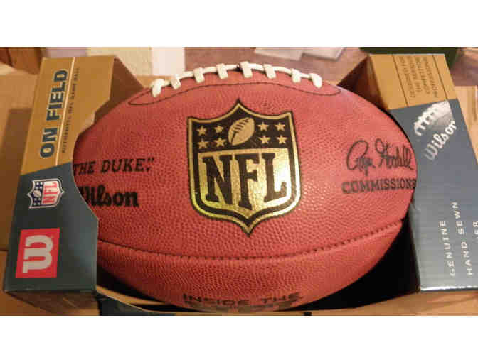 "One Official Wilson NFL Footballs - ""The Duke"" - Photo 1"