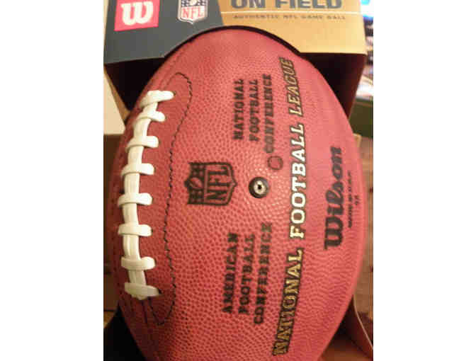 "One Official Wilson NFL Footballs - ""The Duke"" - Photo 2"