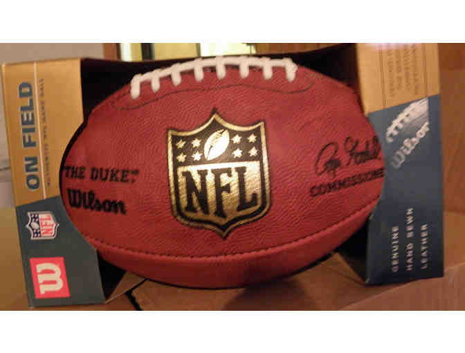 "One Official Wilson NFL Footballs - ""The Duke"" - Photo 3"