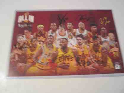 2015 Cleveland Cavaliers Team Signed Large Photo