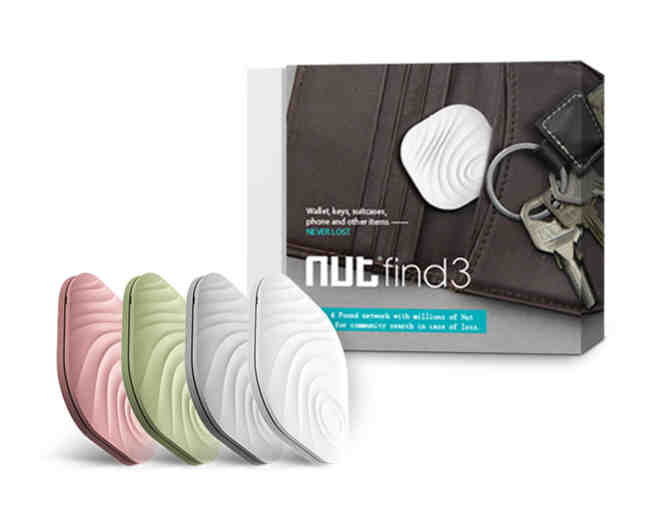 Nut Find 3 Smart Tracker Set of 4
