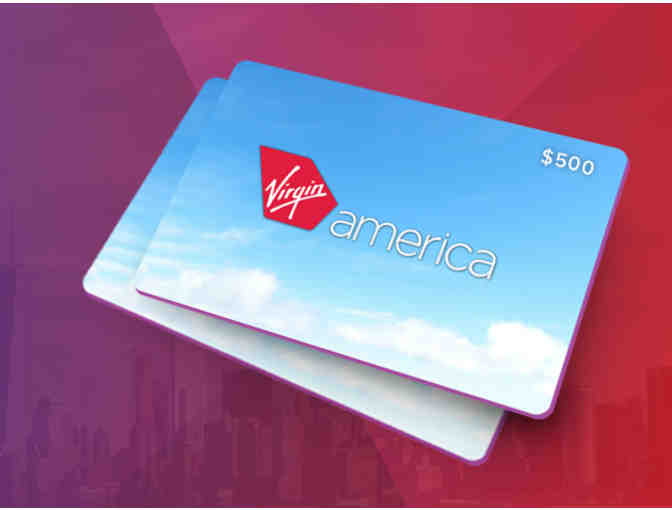 The Virgin America $500 Giveaway (no cost to enter)