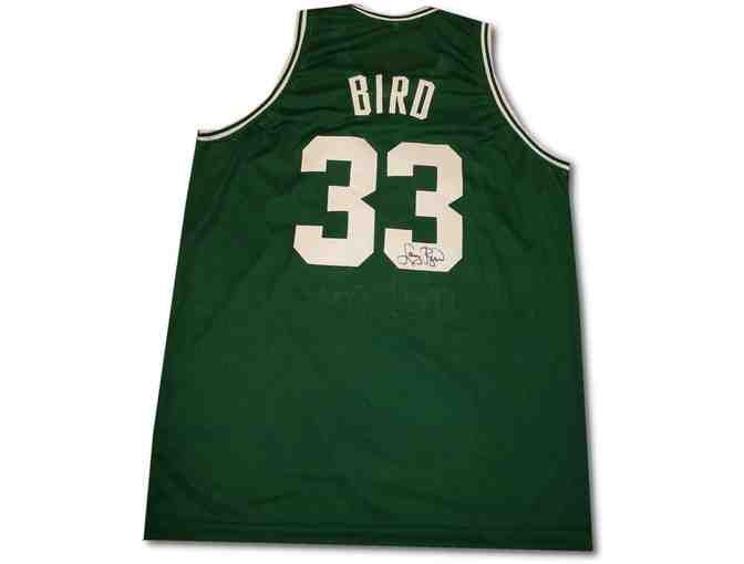 Larry Bird Boston Celtics Autographed Jersey