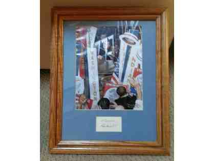 1960 Norman Rockwell JFK Signed Piece