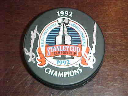 1992 Scotty Bowman Pittsburgh Penguins Signed Puck