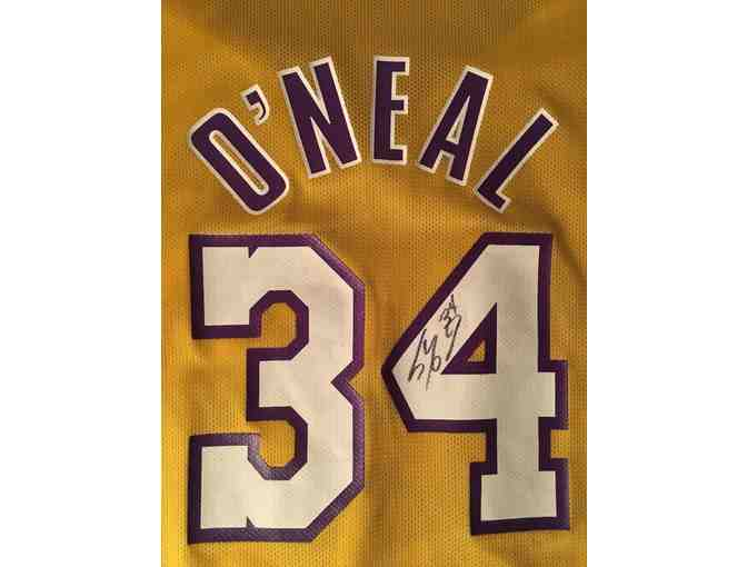 Shaquille O'Neal Los Angeles Lakers Signed Jersey
