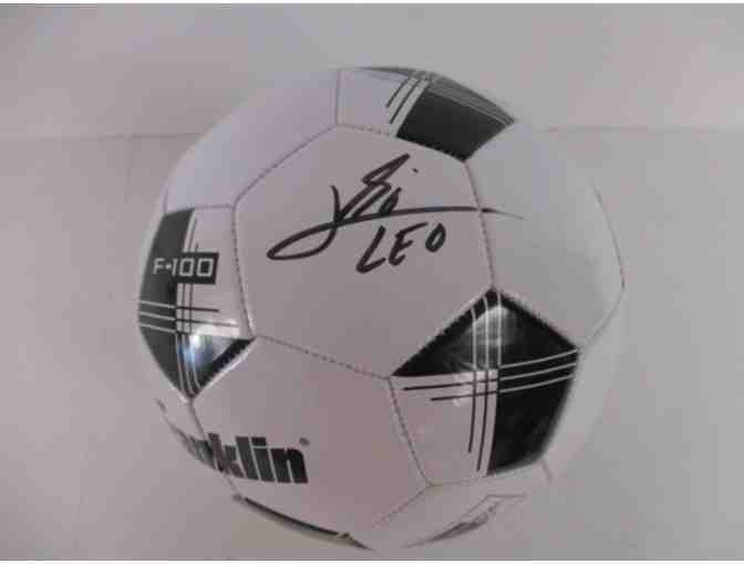 Lionel Messi Autographed Soccer Ball