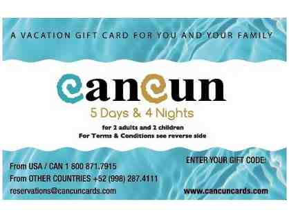 5 Days/4 Nights in Cancun, Mexico for a Family of Four