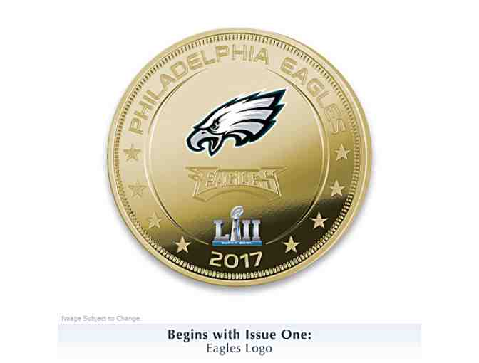 Eagles Super Bowl LII Champions Legal Tender Dollar Coin