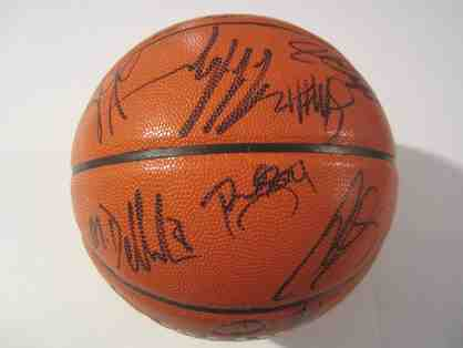 2016 Cleveland Cavaliers Team Signed Basketball